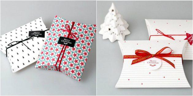 Упаковка-подушка для печенья