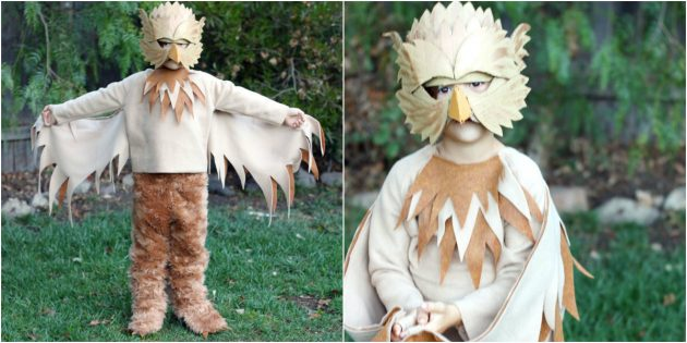 Новогодние костюмы своими руками: Грифон