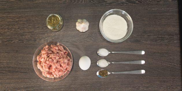 Домашняя колбаса без оболочки: ингредиенты