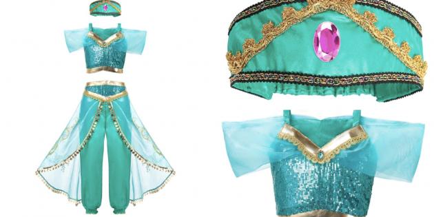 Костюмы для девочек на Новый год: Костюм принцессы Жасмин