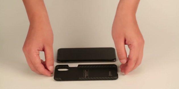Что делать, если телефон упал в воду: снимите чехол