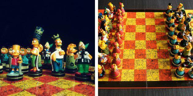 Шахматы с Симпсонами
