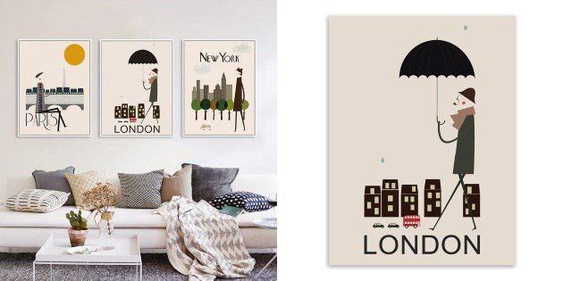 Постеры со столицами