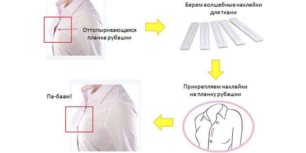 Планка рубашки