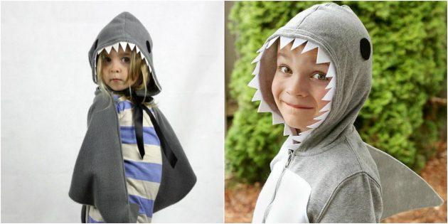 Как сделать костюм акулы