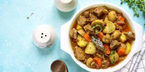 10 идеальных способов приготовить картошку с мясом в духовке и на плите