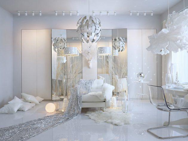 дворец Снежной королевы из сказки Ганса Христиана Андерсена