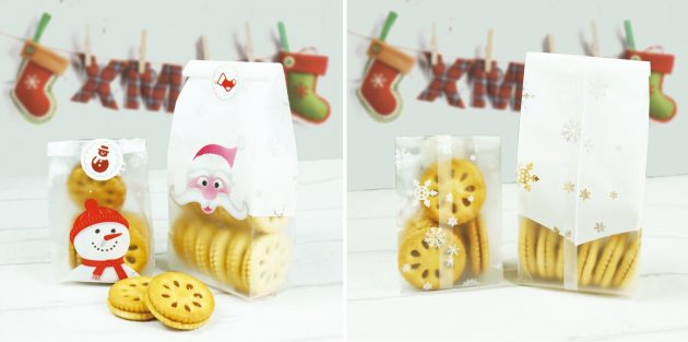 Пакетики для сладких подарков
