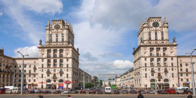 отдых в Беларуси: СССР