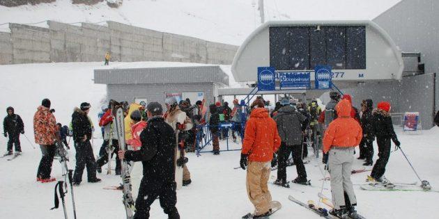 Где покататься на лыжах: Домбай, Россия