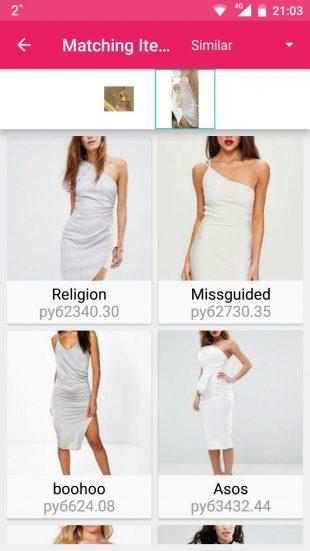 Screenshop: похожие товары