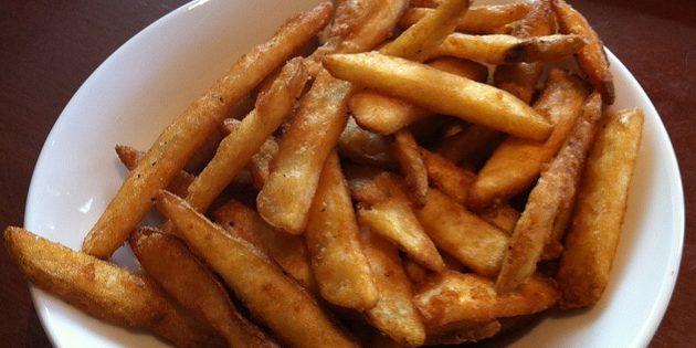 рецепт картошки фри в кляре