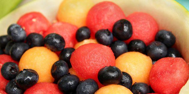 на голодный желудок: фрукты