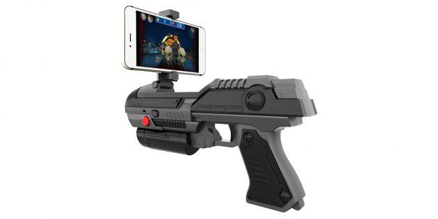 Что подарить ребёнку: пистолет для виртуальных игр