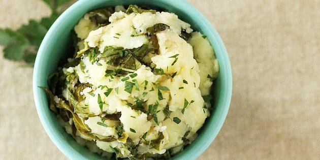 Картофельное пюре с цветной капустой