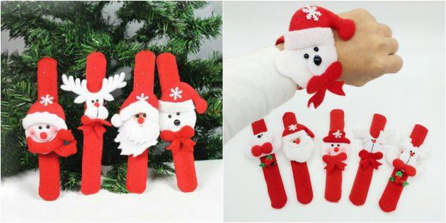 Новогодние подарки с AliExpress дешевле 100 рублей: Детский браслет