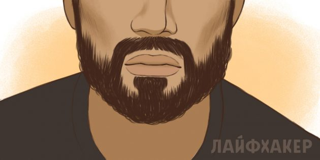 Как постричь усы
