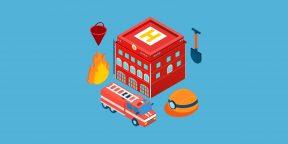 Что делать при пожаре в здании, поезде, на корабле и в самолёте