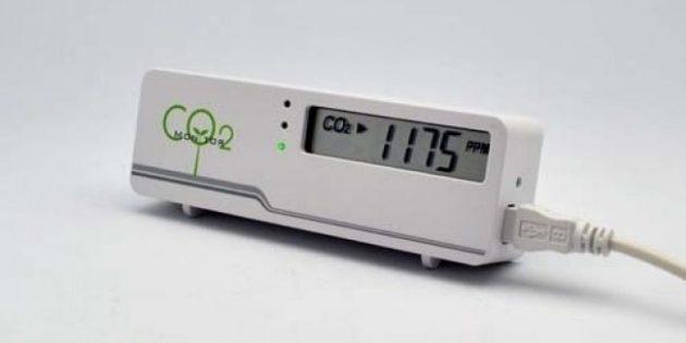 гаджеты для офиса: датчик углекислого газа