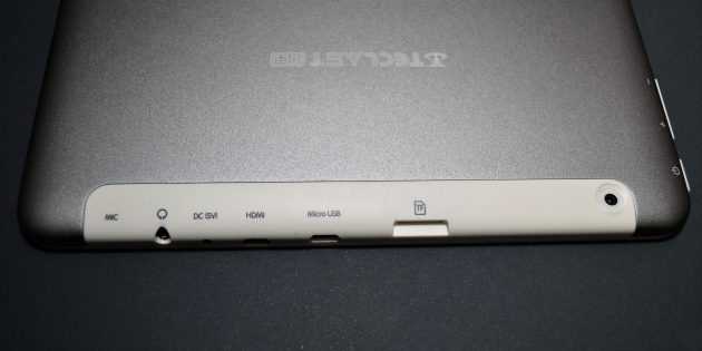 Teclast X98 Plus II: панель разъёмов