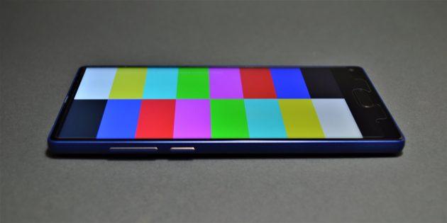 Ulefone Mix. Цветопередача