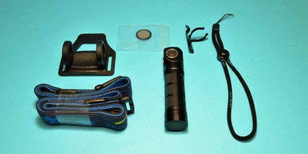 Skilhunt H03: комплект поставки