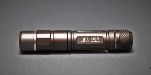 как выбрать фонарик: JETBeam E10R: вид