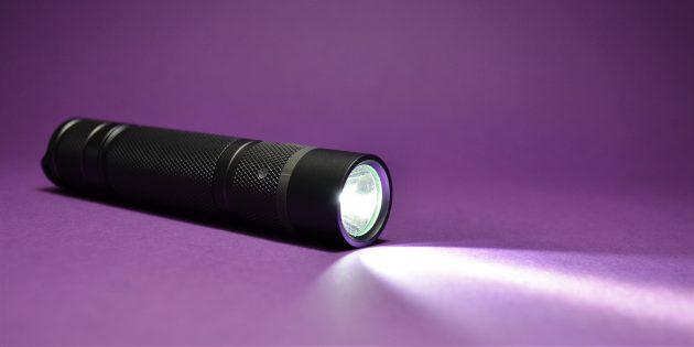 как выбрать фонарик: EagleEye X2R: луч