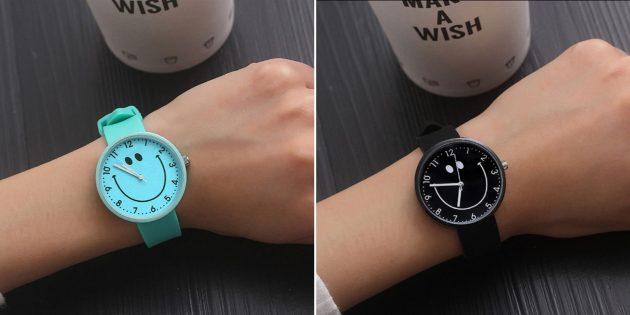 Часы-смайлик