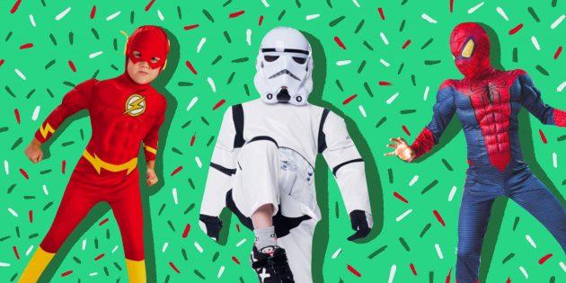 Aliexpress новогодний костюм