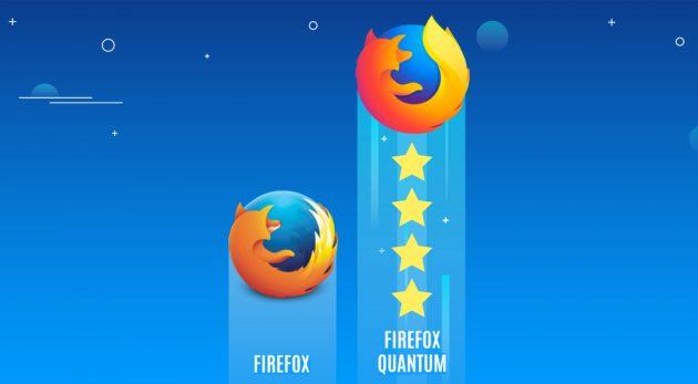 4 главных улучшения нового браузера Firefox Quantum