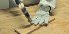 Перчатки-терминаторы, которые выносят даже удар топора