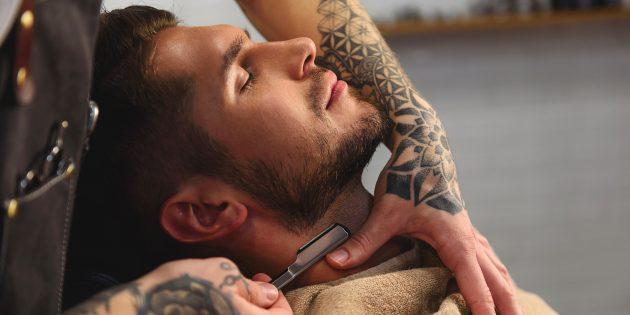 Как не дать бороде расти на шее