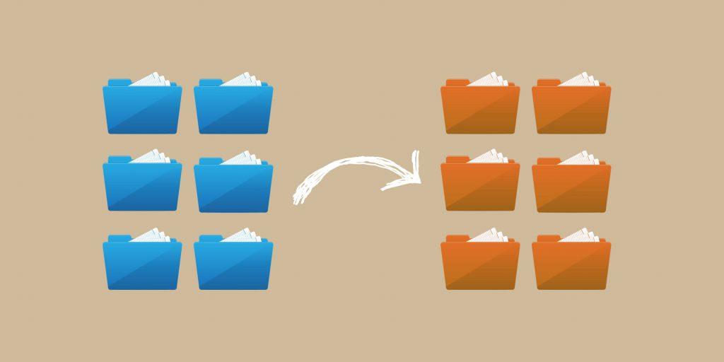 Переименовать большое количество файлов