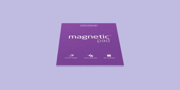 Magnetic Pad — «вечные» стикеры, которые держатся на любой поверхности