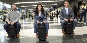 Путешествуйте на чемодане с ветерком