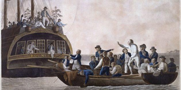 выжить в море: Уильям Блай