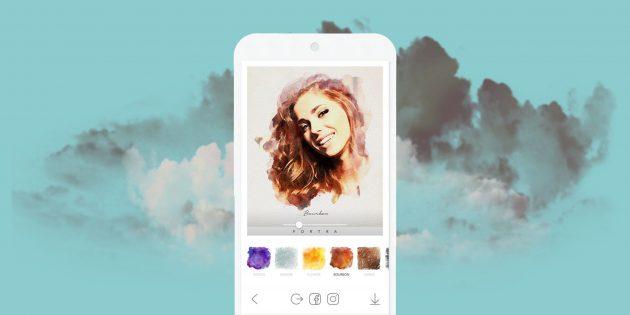 Portra — мобильное приложение с привлекательными художественными фильтрами