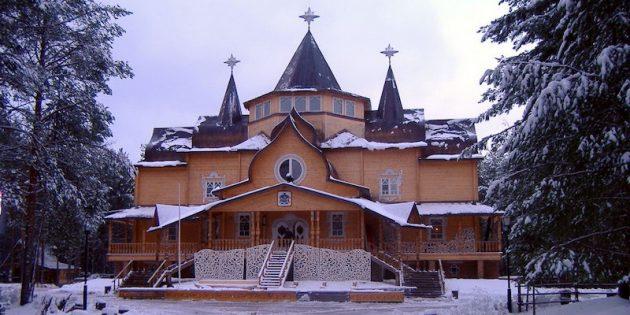 Где встретить Новый год: Великий Устюг, Россия