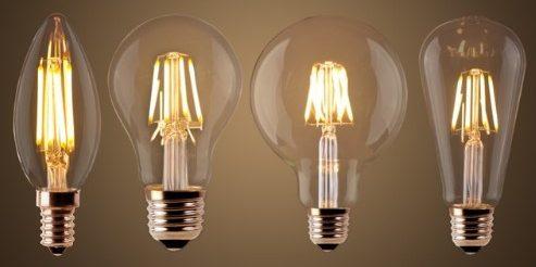 Светодиодные ретро-лампы