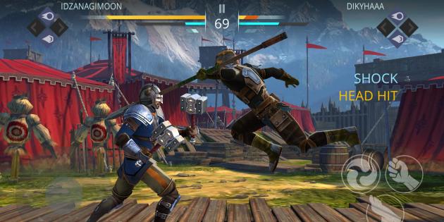 Shadow Fight 3: управление