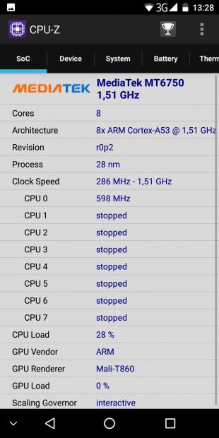 Leagoo S8: процессор