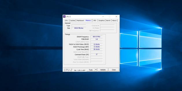 Chuwi LapBook Air. CPU-Z 3