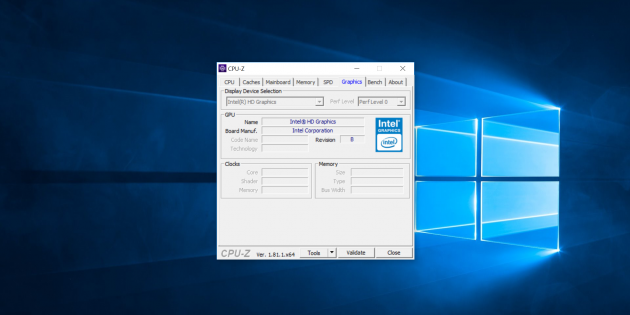 Chuwi LapBook Air. CPU-Z 4