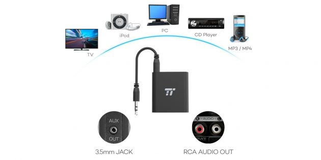 Bluetooth-передатчик Taotronics