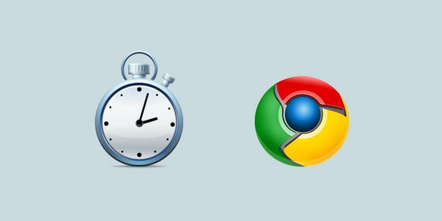 TikTok — минималистичный таймер для Chrome