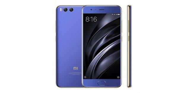 Топ китайских смартфонов: Xiaomi Mi 6