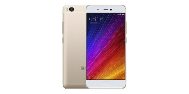 Лучшие китайские смартфоны: Xiaomi Mi5S