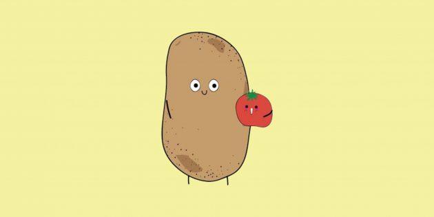 Жизненная мудрость от Правдивой картошки