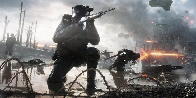 Лучшие игры со скидками: Battlefield 1 Revolution